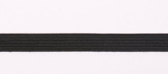 Prádlová guma černá o šíři 10 mm I-EL0-88010-332
