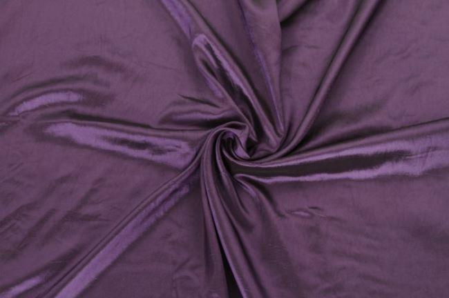 Taft fialový 0420/804