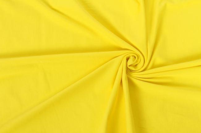Bavlněný úplet žlutý 05438/035
