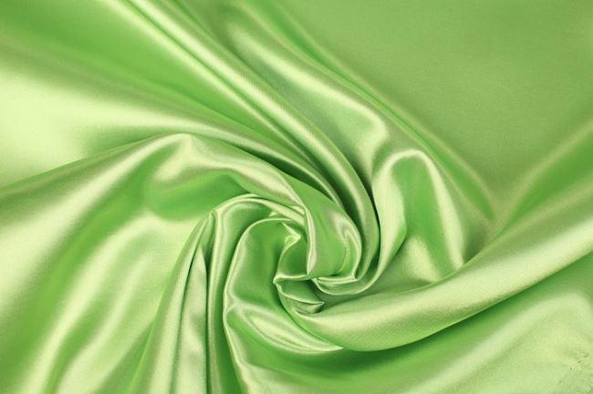 Satén hráškově zelený 0141/315