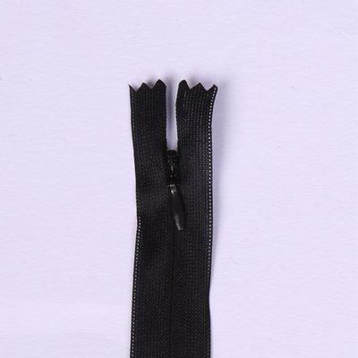 Skrytý zip černé barvy 45cm I-3W0-45-332