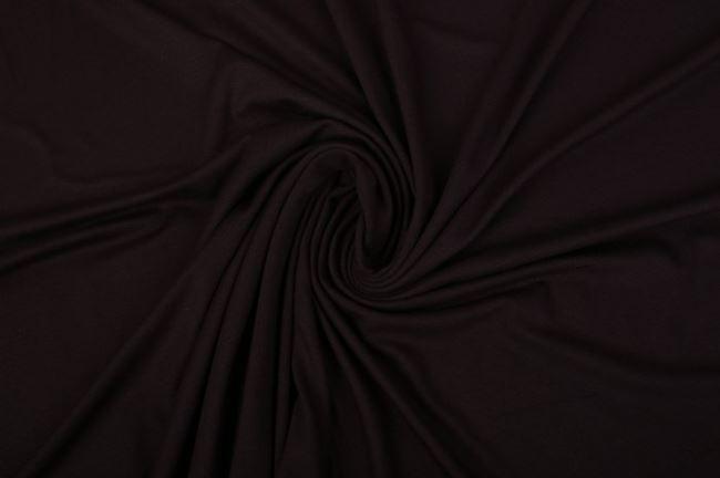 Viskózový úplet tmavě hnědý 02194/058