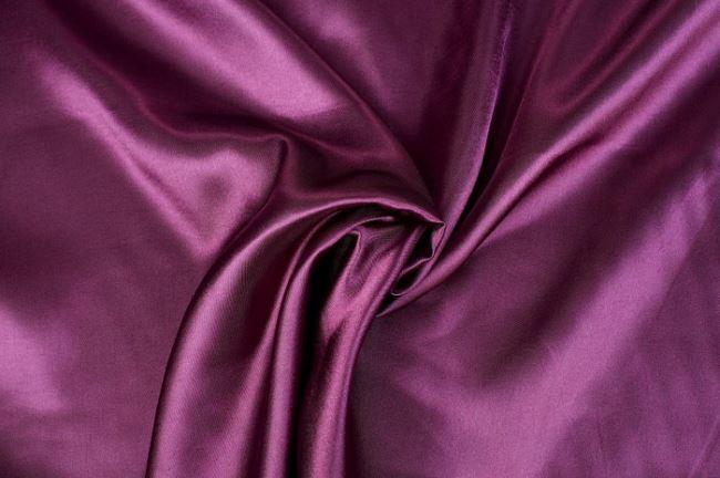 Satén ve švestkové barvě 0141/812