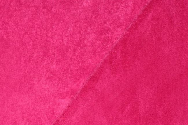 Wellness fleece ve fuchsiové barvě 5358/017