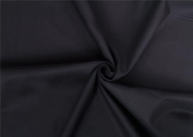 Černé bavlněné plátno 01805/069