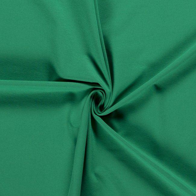 Bavlněný úplet - zelený 05438/025