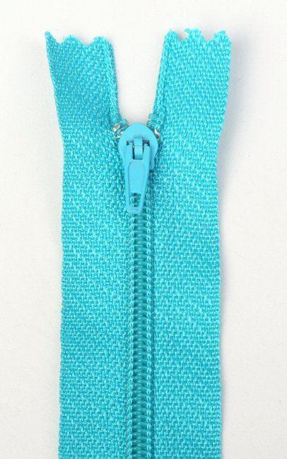 Spirálový zip modré barvy 16cm I-3S0-16-205