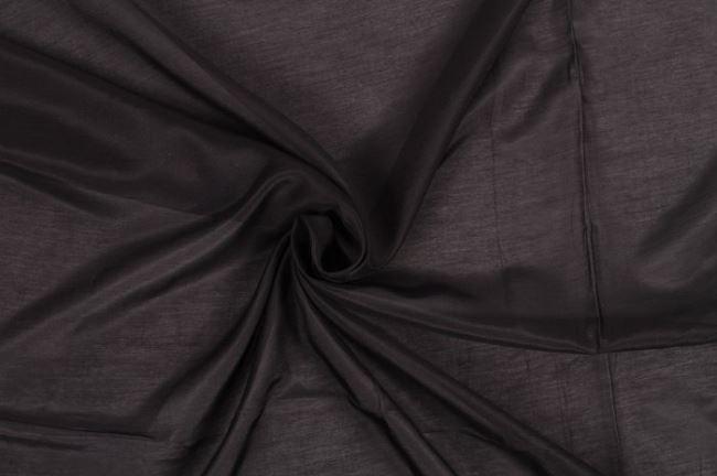 Hedvábný batist černý 0294/999